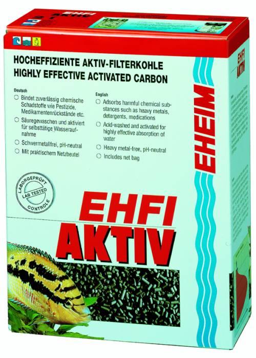 Effektiv Aktiviert Carbon Aquarium Filter Eheim 2513021 Ehfi-activ 250ml